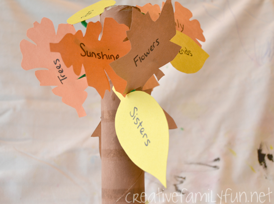 Get Crafty: Gratitude Leaves
