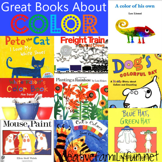 Story Time: Great Books About Color - Creative Family Fun