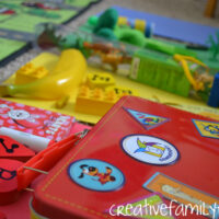 Indoor Color Scavenger Hunt for Preschoolers and Toddlers
