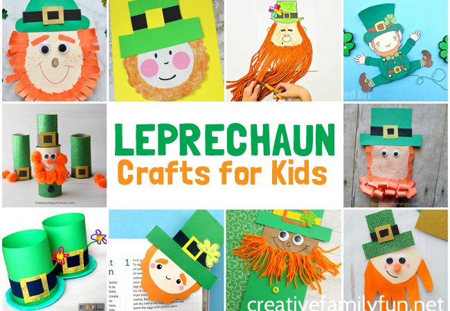 Have fun this St. Patrick's Day with these fun and friendly leprechaun crafts for kids. Get create with these simple kid's crafts.