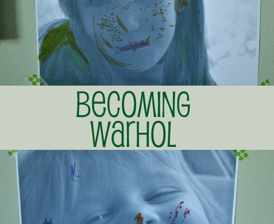 Becoming Warhol ~ Kids Art Activity