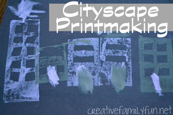 Cityscape Printmaking