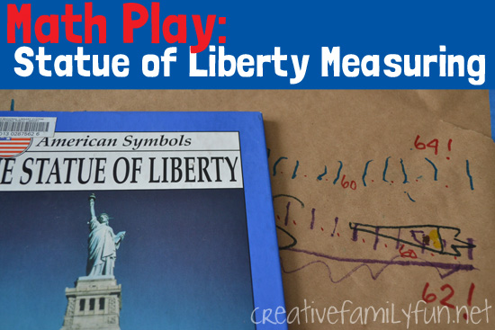 Play with measurement and nonstandard units with this fun Statue of Liberty math activity. It's a fun addition to an American symbols unit.