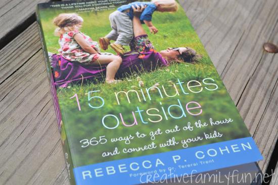 Mom's Bookshelf: 15 Minutes Outside