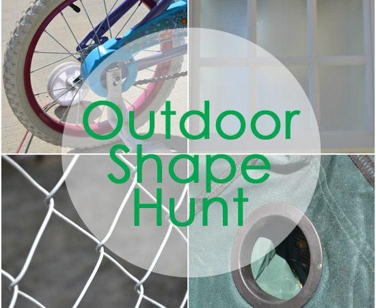 Outdoor Shape Hunt