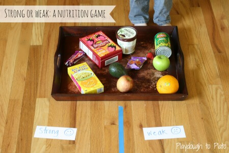 Strong or Weak: A Nutrition Game