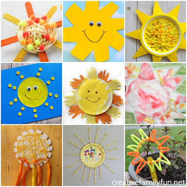 Awesome Sun Crafts for Kids - Creative Family Fun