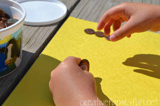 Combine art and science with this fun Sun Prints STEAM activity that uses the power of the sun to make art. It's a fun project for a sunny day!