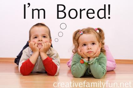 Kids and Boredom