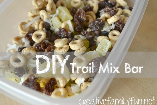 DIY Trail Mix Bar