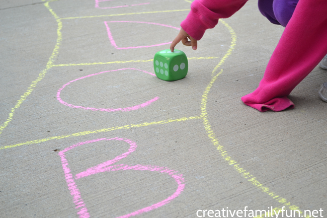 Driveway ABC Game: An Outdoor Alphabet Game