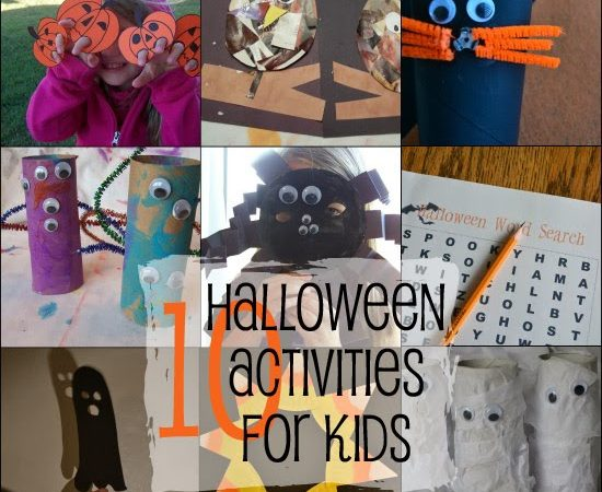 10 Halloween Activities for Kids
