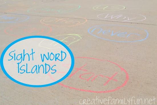 Sight Word Islands