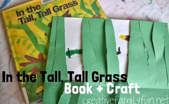 In the Tall, Tall Grass Craft and Book