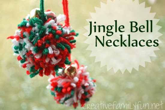 Pom Pom and Jingle Bell Necklaces