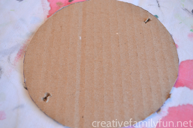 Make a fun craft for Chinese New Year or any time you're learning about China when you make this Chinese Rattle Drum craft for kids.