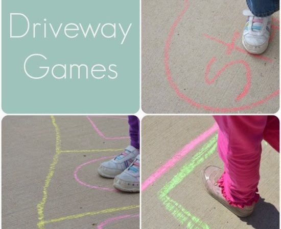 Best Kids Activities of 2013 – Driveway Games