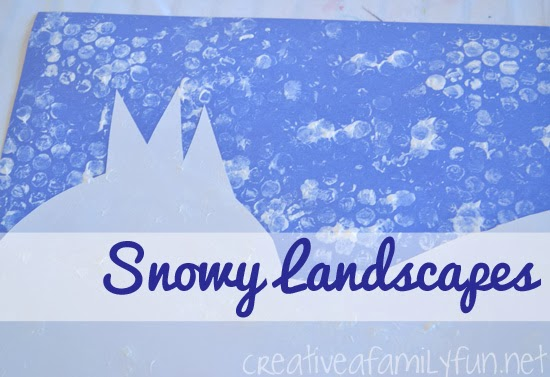 Art for Kids: Snowy Landscapes