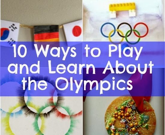 10 Ways to Play and Learn About the Olympics