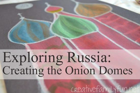 Exploring Russia: Creating the Onion Domes
