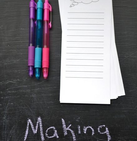 Making Lists: After School Writing Practice