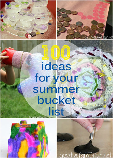 Have fun this summer with these 100 fun ideas for your summer bucket list for kids. You'll have so much fun with these awesome summer boredom busters.