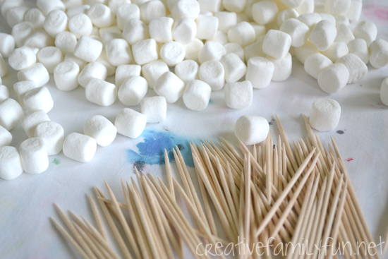 graphic regarding Building With Toothpicks and Marshmallows Printable named Marshmallow Technologies STEAM Creating Situation - Imaginative