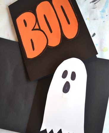 Ghost Pop-Up Cards