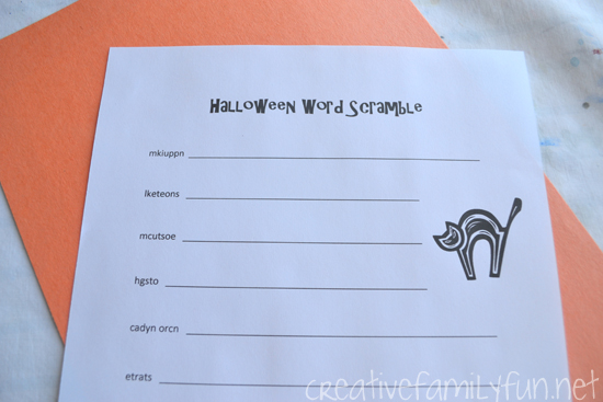 Can you unscramble all these Halloween words? Download a copy of this free Halloween Word Scramble printable for some simple Halloween fun.