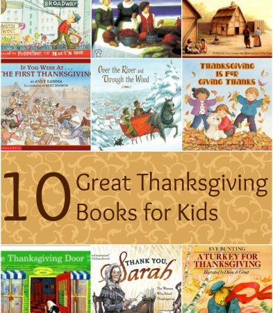 10 Great Thanksgiving Books for Kids