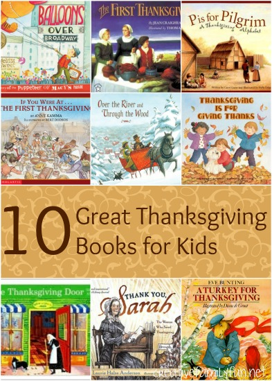 10 awesome Thanksgiving books for kids that will appeal to both preschoolers and elementary kids. Check out a few this month!