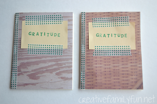 Simple DIY Gratitude Journal