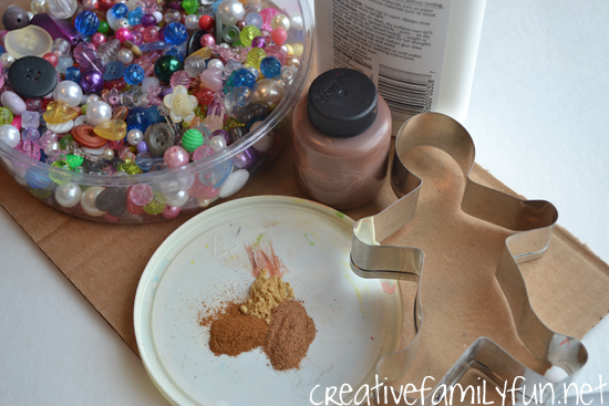 Make a fun Christmas-scented paint to use when you create a Scented Gingerbread Man Ornament. They're a great addition to your Christmas tree.