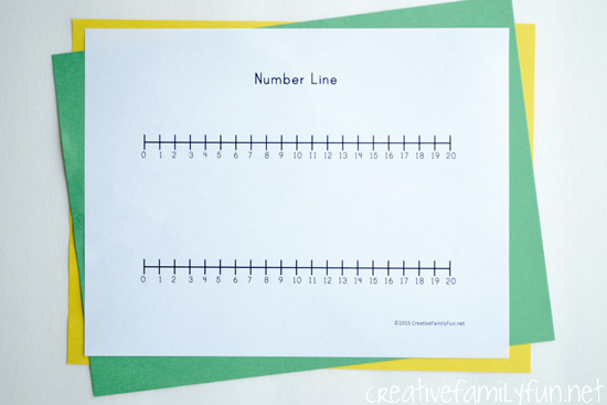 More than likely you've seen a number line come home in your child's homework, but do you know how to use a number line and how to help your child?