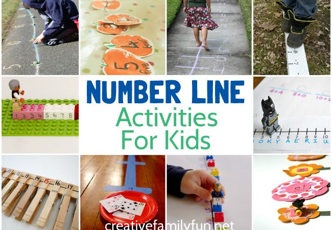 Fun Number Line Activities For Kids