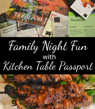 Family Night Fun with Kitchen Table Passport