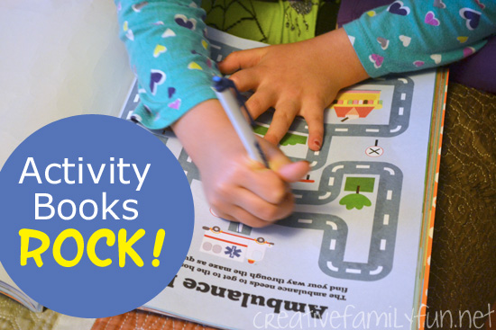 Activity Books Rock!