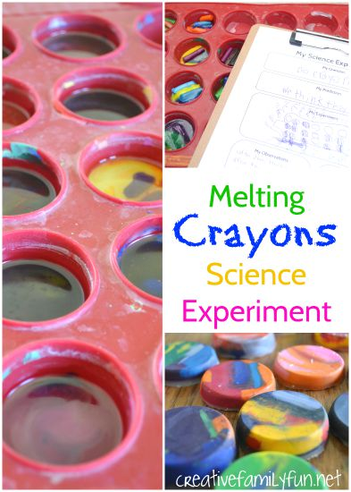 Will crayons melt in the sun? Find the answer to this question with a fun melting crayons science activity. It's a perfect summer science experiment.