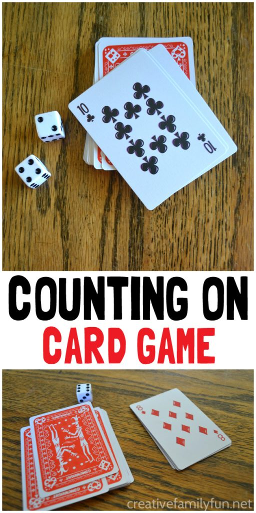 counting on card game  creative family fun