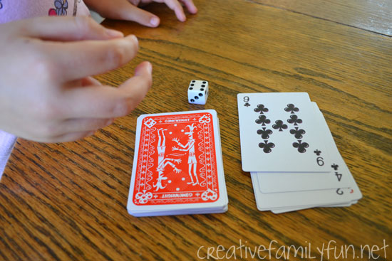 Counting On Card Game