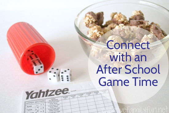 Connect With an After School Game Time