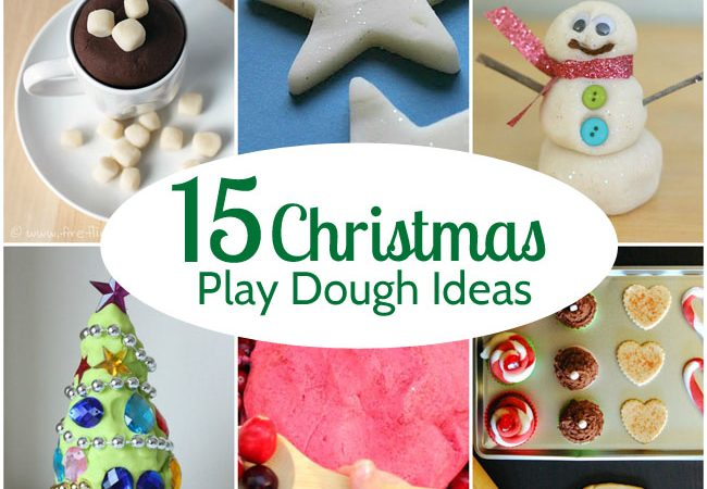 15 Fun Christmas Play Dough Ideas