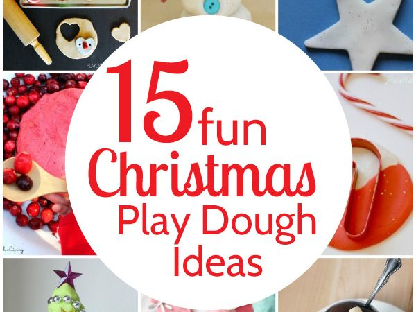 15 Fun Christmas Play Dough Ideas