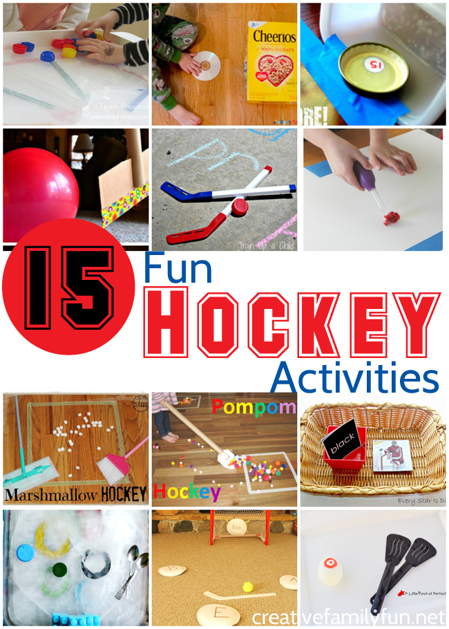 Hockey Stick Arts And Crafts Crafting