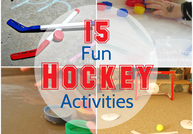 All About Hockey! 15 Fun Hockey Activities for Kids