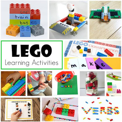 LEGO Learning Ideas for your kindergartners, first, and second graders.
