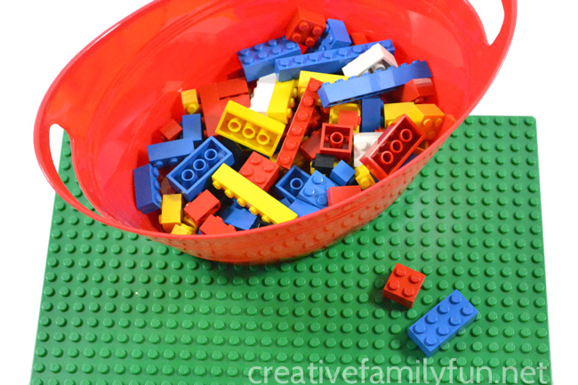 Pick Two – A Fun LEGO Math Game