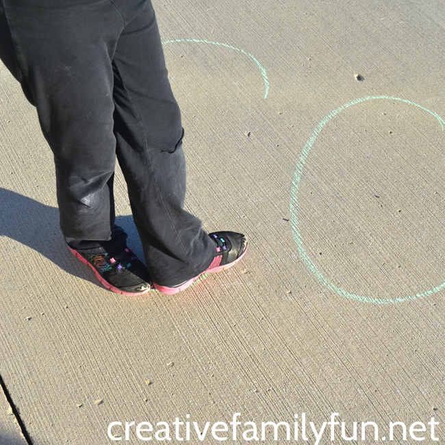 Go outside to learn when you practice this fun movement spelling idea: walk your words. It's a great idea for kids who need to move.