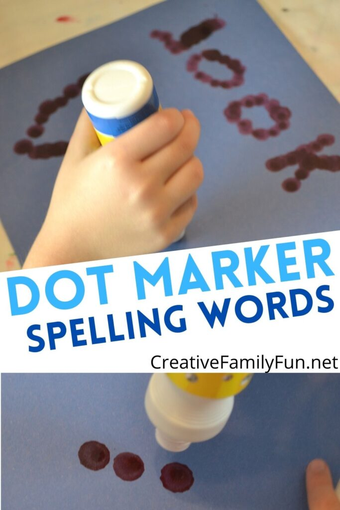 Dot Marker Spelling Words