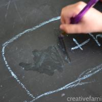 Chalkboard Spelling Word Erase